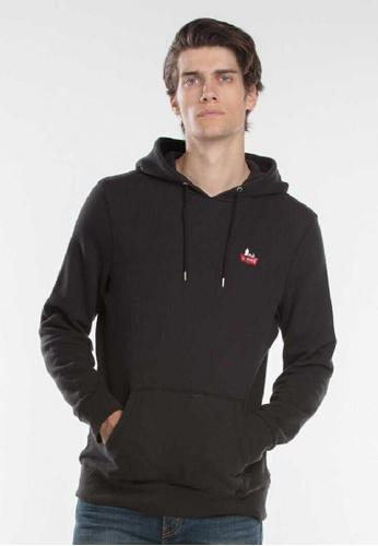 Levi's black Levi's Original Pullover Hoodie B3A0BAAB00FEBCGS_1