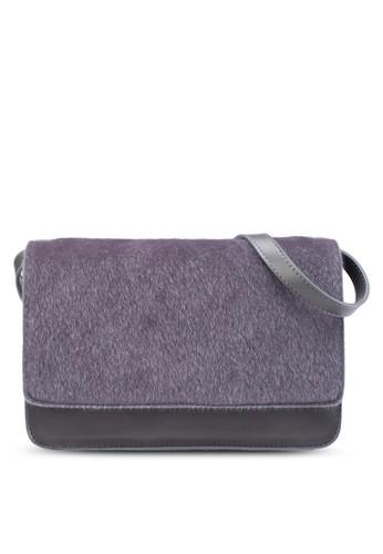 小馬毛翻蓋多夾層手提包、 包、 斜背包ZALORA小馬毛翻蓋多夾層手提包最新折價