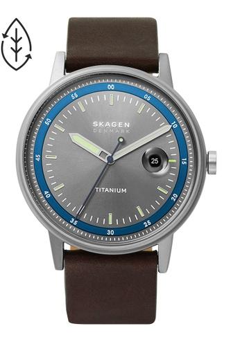 SKAGEN brown Henriksen Watch SKW6753 3A8BFAC0D50D8CGS_1