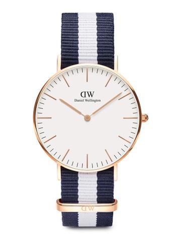 Daniel Wellington gold Classic Glasgow 36mm Rose Gold Watch 432CCACFB53D68GS_1