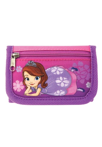 Disney Sofia The First purple Disney Sofia Royalty Tri Fold Wallet E3B44KC770EE1DGS_1