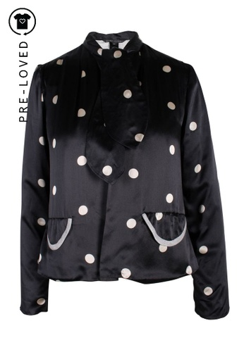 Marc Jacobs blue Pre-Loved marc jacobs Polka Dots Long Sleeves Top 31ECCAAFFB3730GS_1