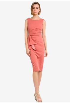 e646b1253d7 Dorothy Perkins Frill Detail Pencil Dress S  99.90. Sizes 6 8 10 14 16