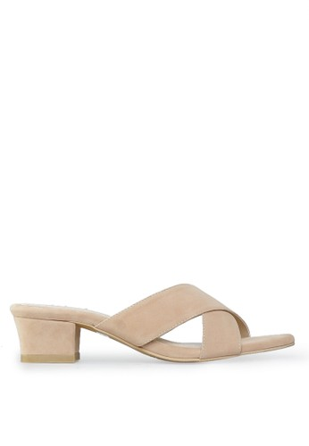 Sweat Mid Heels Cream