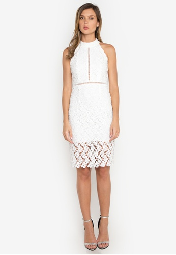 NOBASIC white Hollow Out Crochet Dress NO444AA0FQHVSG_1