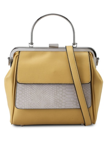 Keddo yellow Rosalia Sling Bag CACF3AC4FE0DD2GS_1