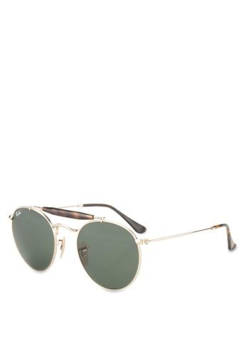 Ray-Ban 金色 RB3747 Sunglasses RA896GL61GSSMY_1