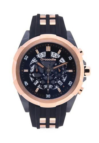 Crocodile Timepiece black Crocodile CM-016D34B Jam Tangan Pria  97395AC4EE2A12GS 1 ebf19a67f3