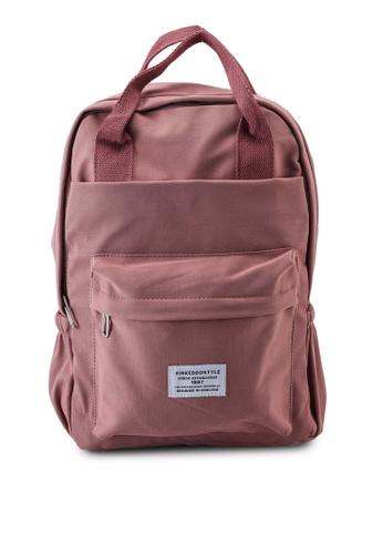 Keddo pink Sabra Backpack A3BAEACC6EAC1AGS_1