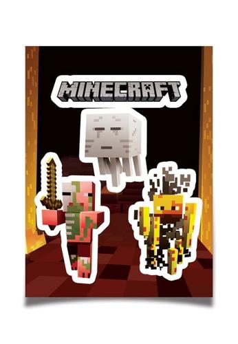 Jinx Jinx Minecraft Mobs Nether Sticker Pack C48FBTH39DB22EGS_1