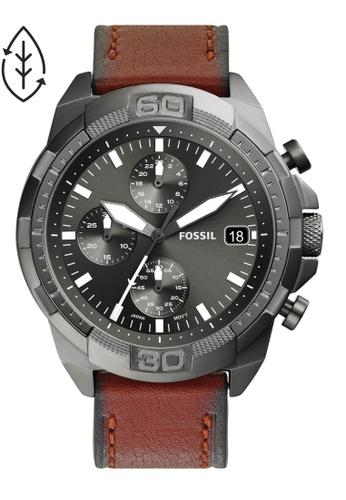 Fossil brown Bronson Watch FS5855 02E9BACC47A020GS_1