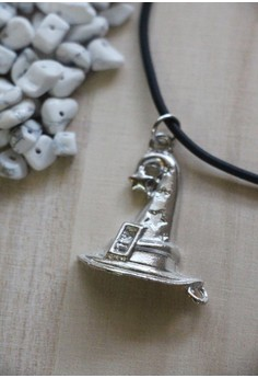 Wizard's hat choker necklace