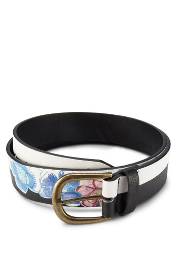 Cint Basiesprit 會員c Meydan Negro 扣環腰帶, 飾品配件, 非皮革