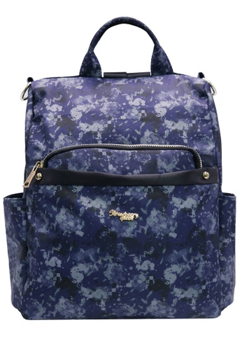 STRAWBERRY QUEEN purple 3-Way Anti-Theft Backpack - ANTI-THEFT BOB (Dark Purple Camouflage) 8F981AC4EEE526GS_1