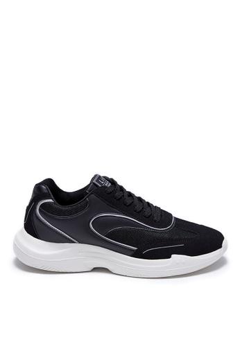 Life8 black Sporty Lace-Up Shoes-09905-Black 0AC46SH0BCE17DGS_1