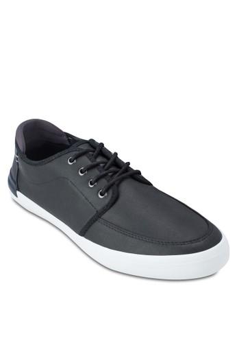 Fridolphesprit分店 補丁仿皮繫帶運動鞋, 鞋, 休閒鞋