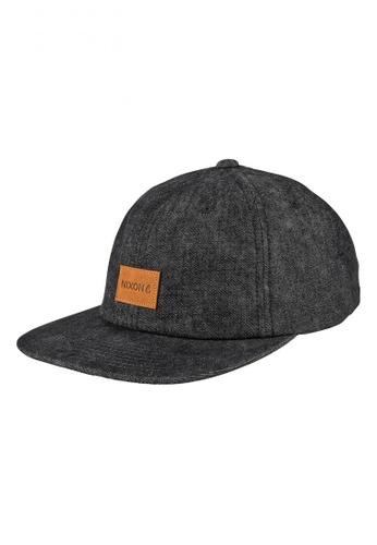 Nixon grey Nixon - Wrangler Snapback Hat - Dark Grey (C2442004) NI855AC67RROSG_1