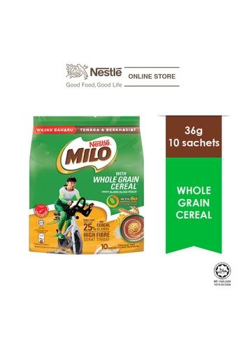 NESTLE MILO ACTIV-GO Whole Grain Cereal 10stick x 36g 3059CES955775AGS_1