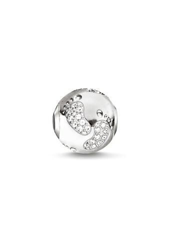 "THOMAS SABO silver Bead ""Baby Footprint"" F9294AC94A21E2GS_1"