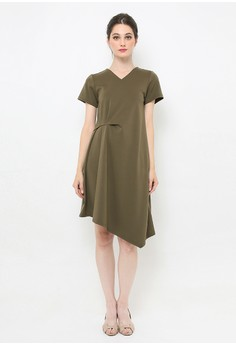 d80e77ce MILLE green and multi Pricillia Dress Army 897AAAA8CEB2C0GS_1