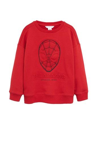 MANGO KIDS red Mango Kids Spider-Man Sweatshirt FD71DKA52E69E9GS_1