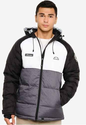 Ellesse black Calimo Padded Jacket DE2E0AA5D3F345GS_1