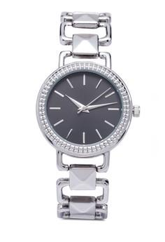 Interlock Chain Strap Watch