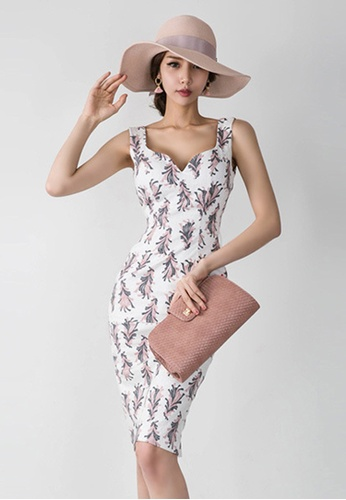 Sunnydaysweety multi 2017 S/S floral Pattern Vest one piece Dress UA033103 SU219AA33DWCSG_1