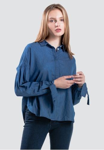 9641c288 Levi's blue Levi's Terri Shirt Women 56425-0000 8FC8AAABCC5EF8GS_1. CLICK TO  ZOOM