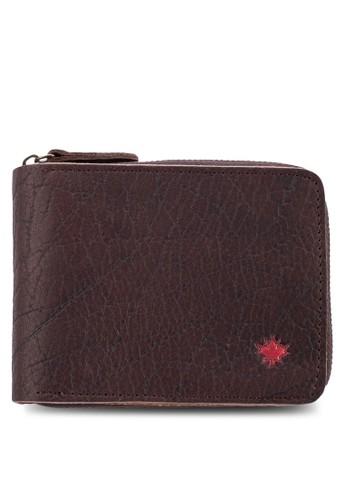 對折拉鍊皮夾, 飾品配件, esprit 中文飾品配件
