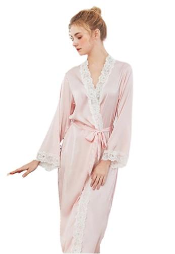 RAISING LITTLE pink Sinna Loungewear Robe 45FA2AABB082D9GS_1