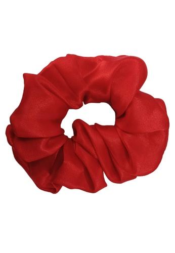 Oh My Bag red Classic Satin Scrunchies A5483AC8FBE717GS_1