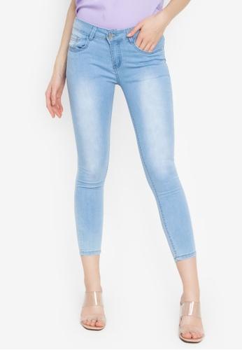 Balaynor blue Washed Skinny Jeans 608CBAAC3FD91BGS_1