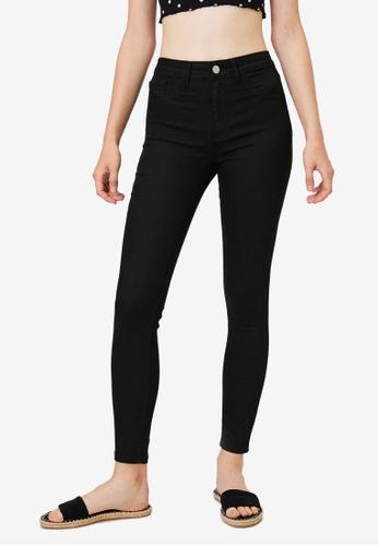 KOTON black Basic Skinny Jeans 47A68AA17563D0GS_1
