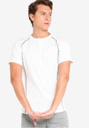 ZALORA ACTIVE white Muscle Training T-Shirt C5A88AA7135FE3GS_1