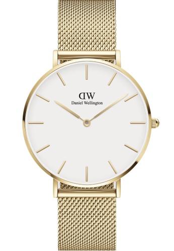 Daniel Wellington gold Petite Evergold White 36mm Watch 5BF40AC4CB18E4GS_1