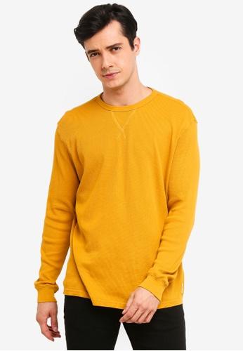 OVS 橘色 長袖T恤 F70D6AA05E6007GS_1