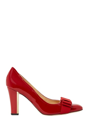 Nina Armando red Ivy II Patent Leather High Heel NI342SH0FV98SG_1