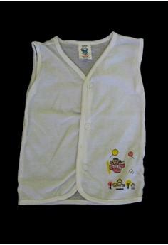 111B Sleeveless Printed Baby Dress Unisex (Set of 6)