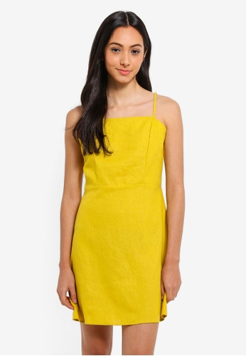 Cotton On yellow Woven Krissy Dress 0824AAAF067F71GS_1