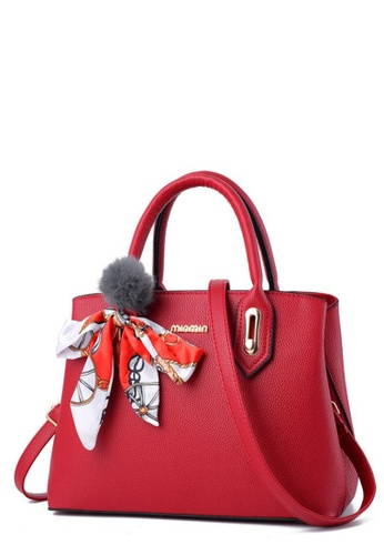 TCWK red TCWK Korea Style Red Ladies Handbag TC258AC0SAO0MY_1