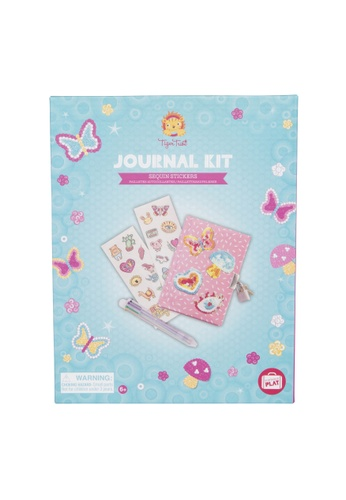 Tiger Tribe Journal Kit Sequins Stickers AF0D8THF8AAD49GS_1