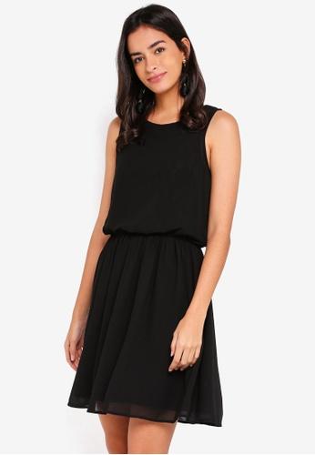 Vero Moda black Mia Sleeveless Lace Dress 65513AA8BD0878GS_1