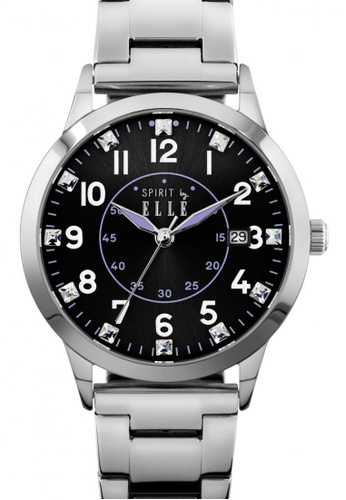 ELLE black Fashion Ladies Watch EL900AC98LQFMY_1