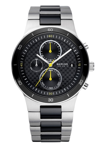 Bering silver Ceramic 33341-749 Black 41 mm Men's Watch CB543AC2945C0FGS_1