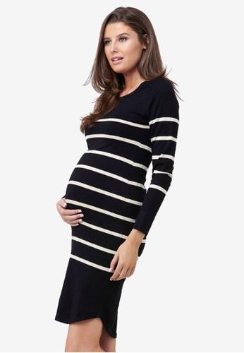 Ripe Maternity black and multi Maternity Valerie Tunic Dress 061A4AAE99B8B3GS_1
