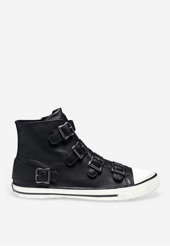 ASH black Vincent - Black Strap Sneakers F66A3SH5820324GS_1