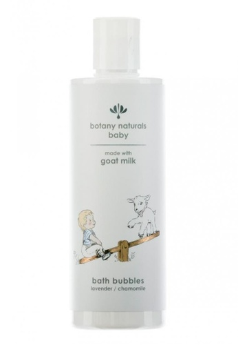 Livebetterasia Singapore Botany Naturals Baby Bath Bubbles made with goat milk / lavender / chamomile  250ml EE5BCESCEC0B0AGS_1