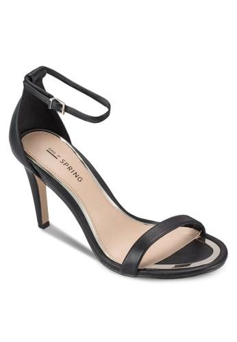 Liraniel 簡約包esprit服飾跟繞踝高跟鞋, 女鞋, 鞋