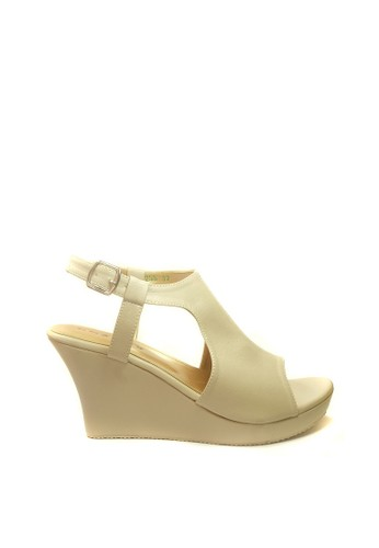 Beauty Shoes beige Beauty Shoes 1256 Ovilza Wedges Cream 83C3ESH5299B20GS_1